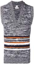 E. Tautz striped knit vest
