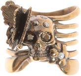 Alexander McQueen Skeleton Butterfly Ring