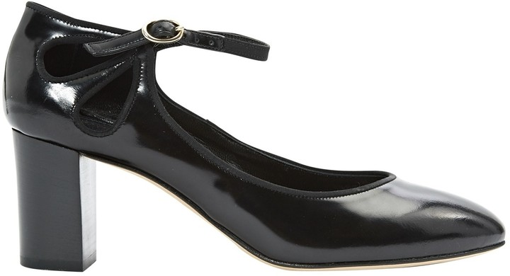 Vanessa Seward Black Patent leather Heels