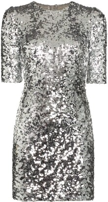 Dolce & Gabbana Sequinned Mini Dress