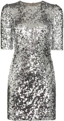 Dolce & Gabbana Sequinned Mini Dress