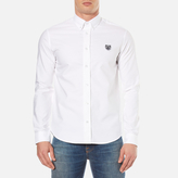 Kenzo Slim Fit Oxford Tiger Shirt White