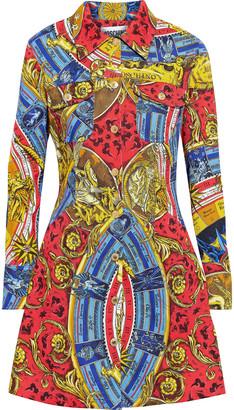 Moschino Printed Denim Mini Dress