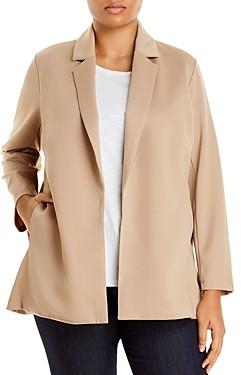 Eileen Fisher, Plus Size Notch Collar Jacket