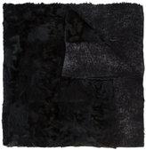Avant Toi textured shawl