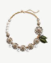 Ann Taylor Crystal Petal Necklace