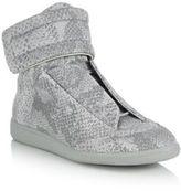 Maison Margiela Future Reflective High-Top Sneakers