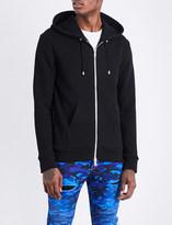 Balmain Tiger-print cotton-jersey hoody