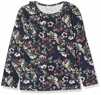 Name It Baby Girls' Nmftia Ls Top T-Shirt