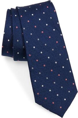 Michael Kors Textured Dot Silk Tie