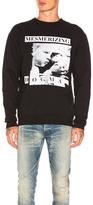 Enfants Riches Deprimes Mesmerizing Dogma Sweatshirt in Black.