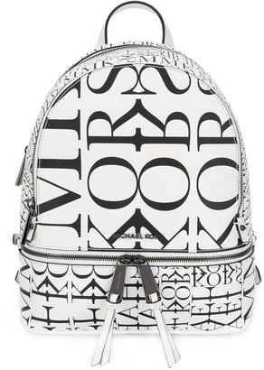 MICHAEL Michael Kors All-Over Logo Backpack
