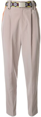 Kolor Contrast Pocket Tapered Trousers