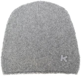 Kenzo Cashmere-Wool Blend Beanie Hat