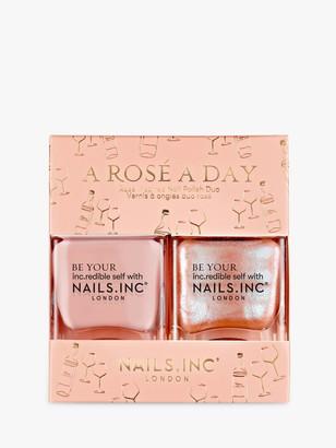 Nails Inc A Rose A Day Nail Polish Duo