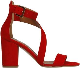 Paris Texas Swirl Strap Sandals