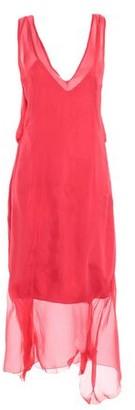 alex vidal 3/4 length dress