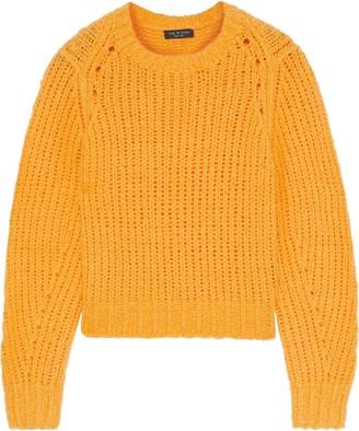 Rag & Bone Arizona Open-knit Merino Wool Sweater