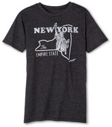 New York Local Pride by Todd Snyder Men's Empire State Tee - Charcoal Gray