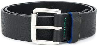 Paul Smith Sport stitch leather belt