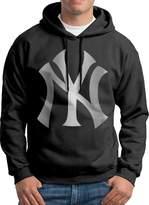 Sarah Men's New York Yankees Platinum Logo Hoodie XXL