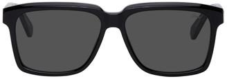Brioni Black Square Sunglasses
