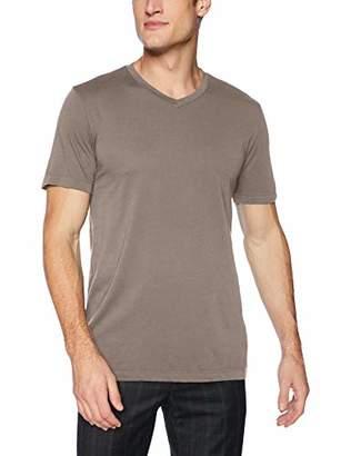 Velvet by Graham & Spencer Velvet Men Samsen Short Sleeve tee V Neck in All Cotton