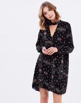 Sass Cicely Wrap Front Dress
