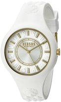 Versus By Versace Women's SOQ040015 Fire Island Analog Display Quartz White Watch