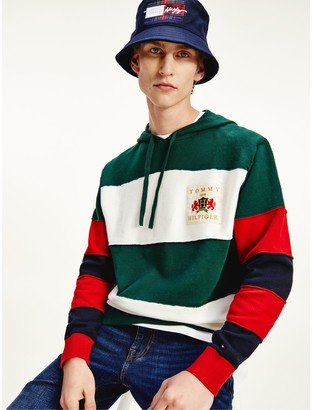 Tommy Hilfiger Organic Cotton Rugby Hoodie Sweater