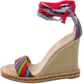 Marc Jacobs Multicolor Round-Toe Wedges