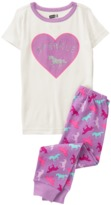 Crazy 8 Unicorn 2-Piece Pajama Set