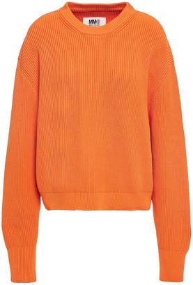 MM6 MAISON MARGIELA Ribbed-knit Sweater