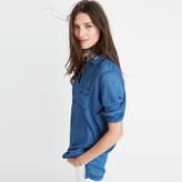 Madewell Indigo Popover Shirt