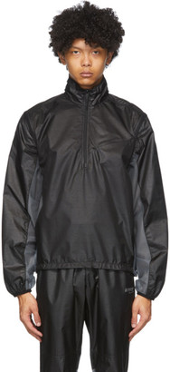 AFFIX Black Convertible Technical Jacket
