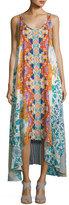 Johnny Was Ellyo Printed Georgette Tank Dress, Multi