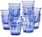 Duralex Blue Picardie Tumblers, Set of 6