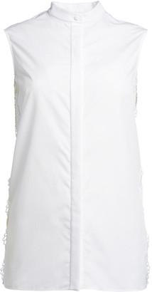 Alexander McQueen Sleeveless Button-Up Blouse
