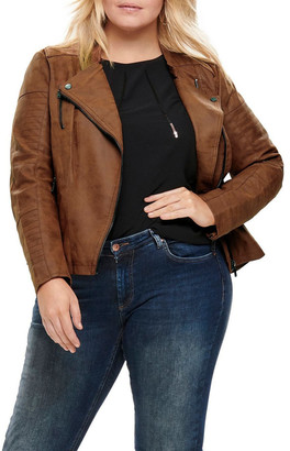 Only Avana Faux Leather Jacket
