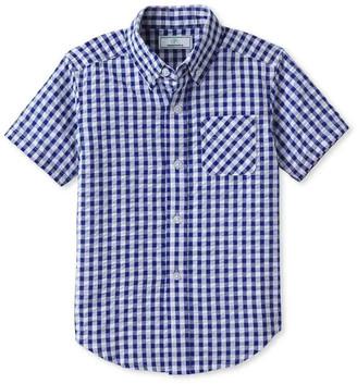 Classic Prep Childrenswear Boy's Owen Gingham Button-Down Shirt, Size 2-14