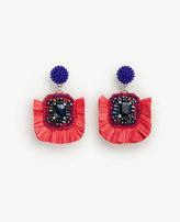 Ann Taylor Raffia Earrings