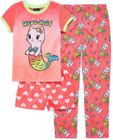 JELLIFISH KIDS Jelli Fish Kids 3-pc. Kids Pajama Set Girls
