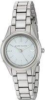Anne Klein Women's AK/2433WTSV Silver-Tone Bracelet Watch
