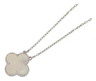 Van Cleef & Arpels Vintage Alhambra White White gold Necklaces