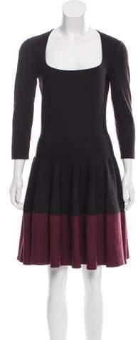 Alexander McQueen Wool Knit Dress