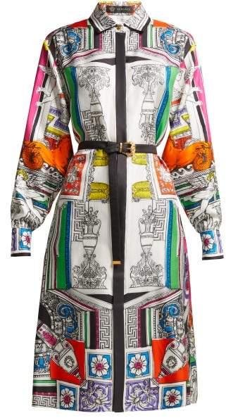 2a6716d0 Versace Print Silk Dresses - ShopStyle