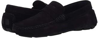 Trask Rowan (Blue Italian Suede) Men's Shoes