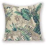 Alexa K Tiger/Zebra/ Leopard Cushion Cover