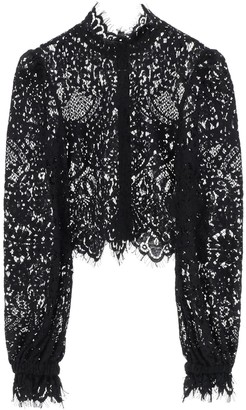 Wandering LACE TOP 38 Black