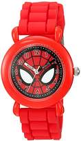 Marvel Boy's 'Spider-Man' Quartz Plastic and Silicone Casual Watch
